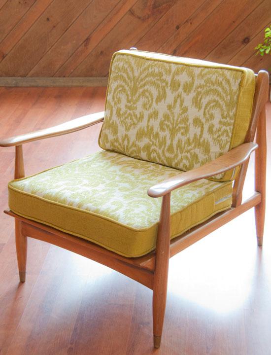 Incroyable DIY Box Cushions Mid Century Arm Chair