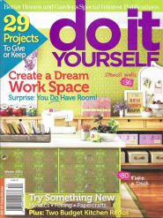 Eisman Design in Better Homes and Gardens Do It Yourself Magazine